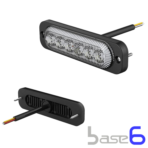 3 Watt Warning Light 6x LED - BASE6
