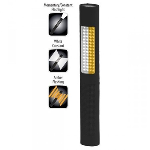 Nightstick B6NSP1174 White/Amber Safety Light / LED Torch