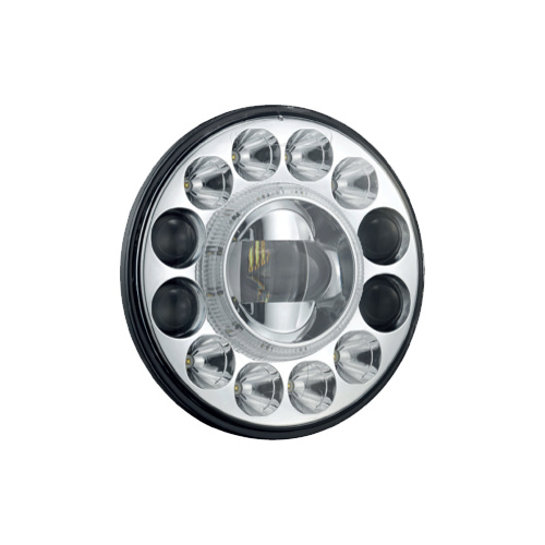 "7"" LED Headlight Insert by White Vision  (Single)"