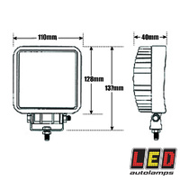 LED Work Light (Single) 11518 Series