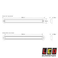 LED Single Function Light 380 Series - LED Autolamps