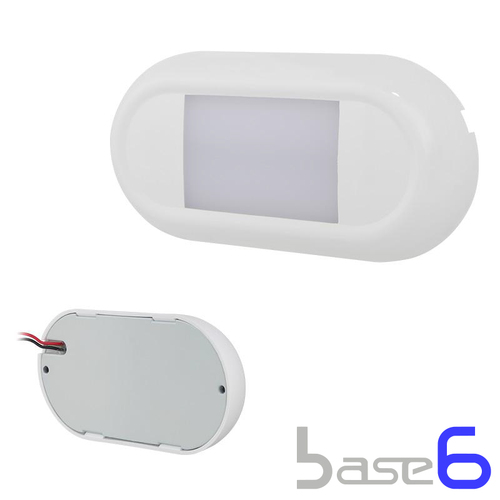 136mm Interior LED Frosted Surface Mount