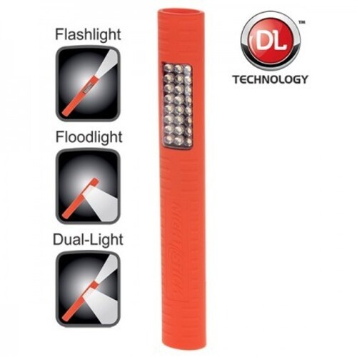 Dual-Light™ with Magnet Multi-Purpose Flashlight - Floodlight