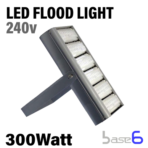 Modular Floodlight, 300W, 100-277V, 90 Degree Beam Angle,  45,000 Lumens, 150Lm/W, Cool White,