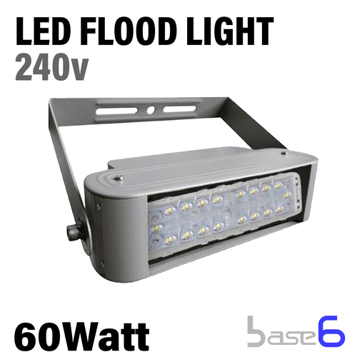 Modular Floodlight, 60W, 100-277V, 90 Degree Beam Angle,  9,000 Lumens, 150Lm/W, Cool White,