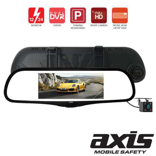 6.8 Inch LCD Rearview Mirror Kit