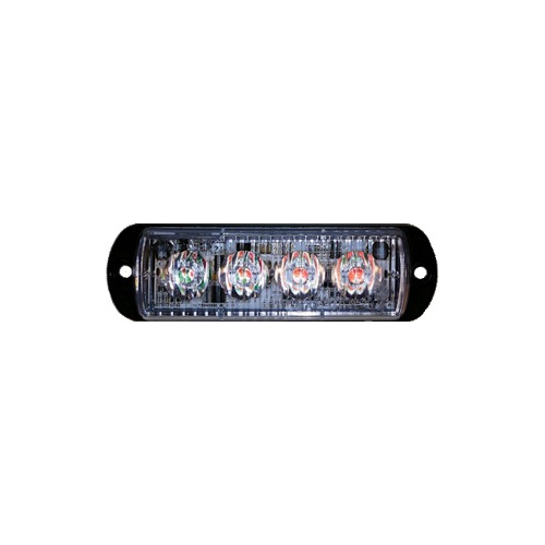 4 LED surface mount warning light