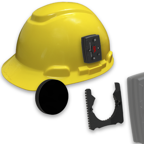 Guardian Angel Hard Hat Mount with Magnetic Mount
