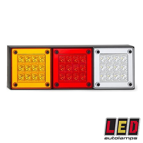 Mini Jumbo Tail Lights (Single) 280 Series - LED Autolamps