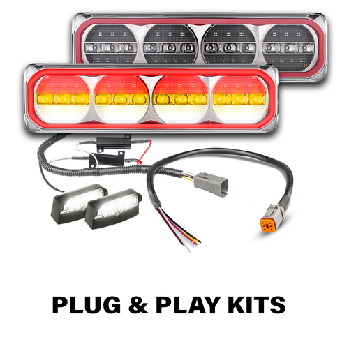 385 Sequential Maxilamp Tail Light Plug & Play Kit