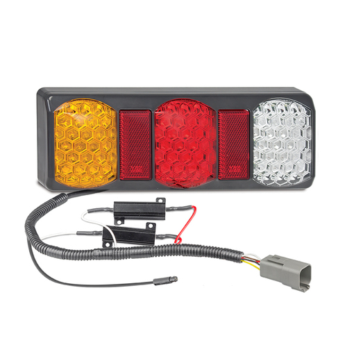 275 Series LED Tail Light with built in Load Resistors and Plug