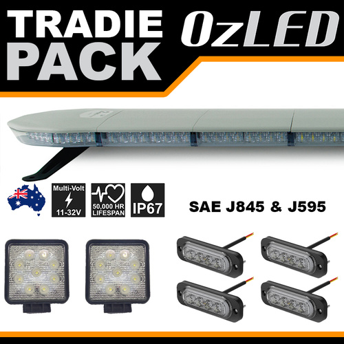 TradieWarning Lights and LED Light bar - Pack 1
